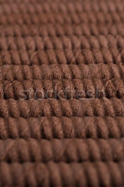 шоколадом вафельный продовольствие Сток-фото © deandrobot