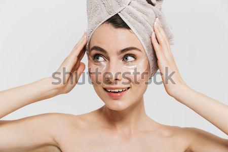 美 肖像 幸せ 魅力的な 裸 ストックフォト © deandrobot