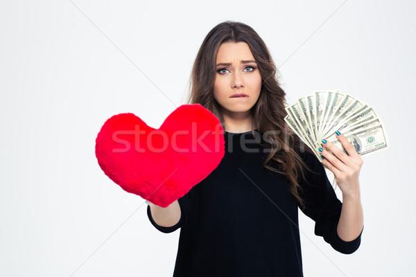 Dziewczyna miłości ceny obraz młoda dziewczyna Zdjęcia stock © deandrobot