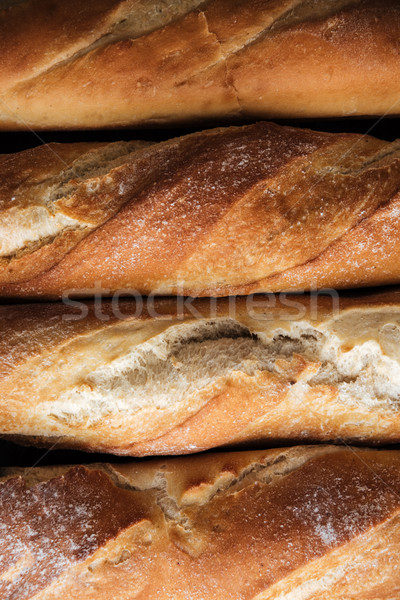 パン ベーカリー 画像 カフェ 朝食 ボード ストックフォト © deandrobot