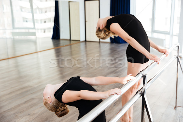 Peu joli ballerine enseignants danse ballet Photo stock © deandrobot