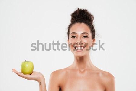 すごい 裸 リンゴ 画像 ストックフォト © deandrobot