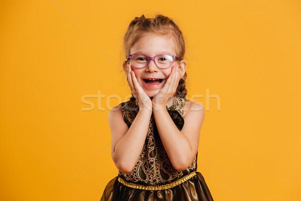 Zdjęcia stock: Dziewczynka · dziecko · Fotografia · stałego · odizolowany