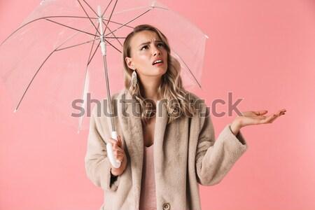 Weeping bride Stock photo © deandrobot