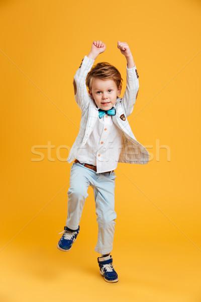 少年 子 楽しい 画像 立って ストックフォト © deandrobot