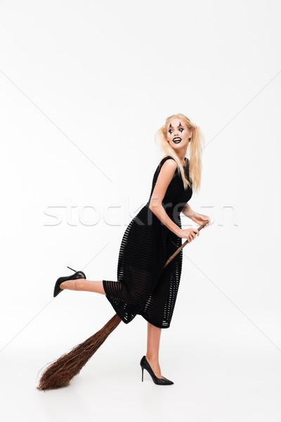ストックフォト: 肖像 · かなり · 魔女 · ハロウィン