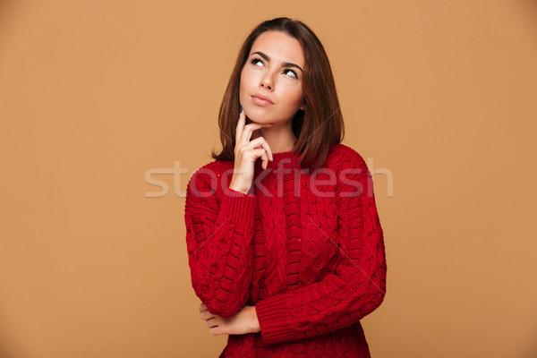 照片 年輕 漂亮 女孩 商業照片 © deandrobot