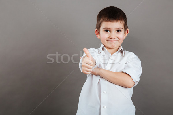 Stok fotoğraf: Mutlu · küçük · erkek · ayakta