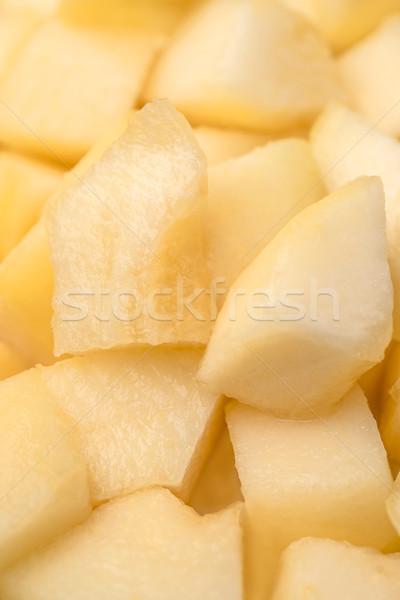 Diverso fette melone shot giallo Foto d'archivio © deandrobot