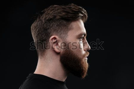 Athletic man in profile Stock photo © deandrobot