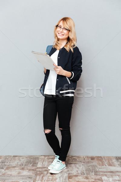 Full-length shot of student Stock photo © deandrobot