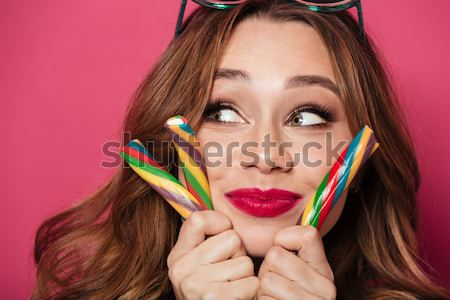 Stock photo: Closeup image of magnificent african american woman with fashion