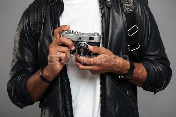 Zdjęcia stock: Młodych · Afryki · mężczyzna · fotograf