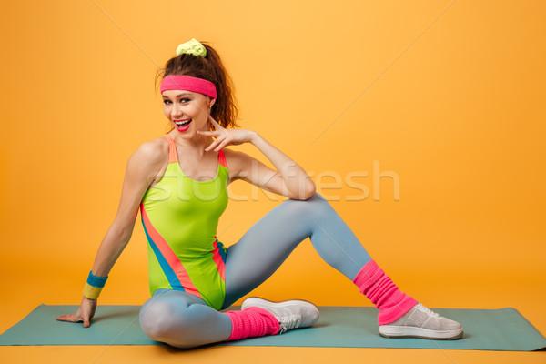 信じられない 小さな スポーツ 女性 画像 ストックフォト © deandrobot