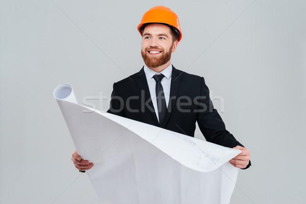 Engineer in suit Stock photo © deandrobot