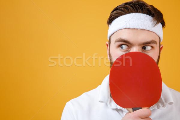 Confusi giovani tennis da tavolo Foto d'archivio © deandrobot