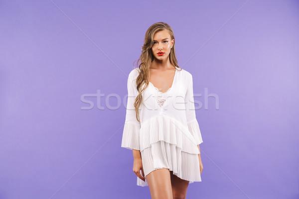写真 きれいな女性 20歳代 長い ストックフォト © deandrobot