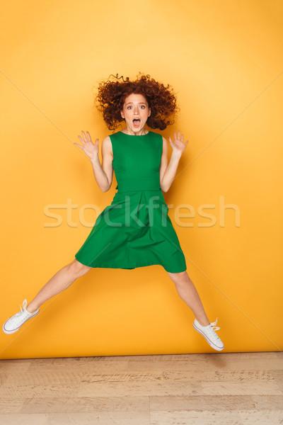 Foto stock: Retrato · jovem · mulher