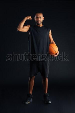 Сток-фото: портрет · спортивных · женщину · позируют