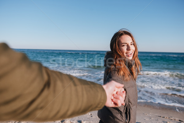 Stock fotó: Első · személy · kilátás · férfi · tart · kéz
