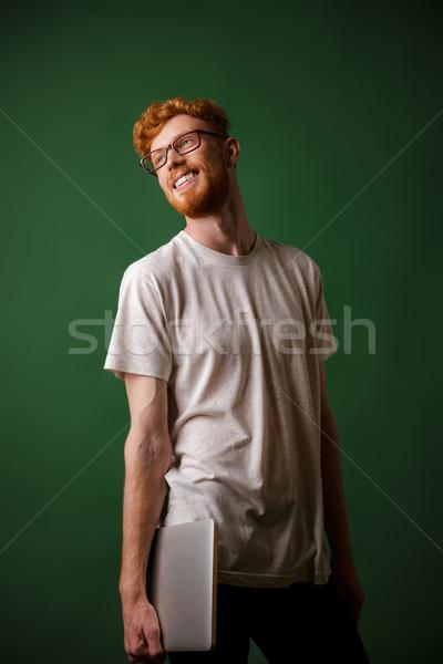 Сток-фото: портрет · молодые · бородатый