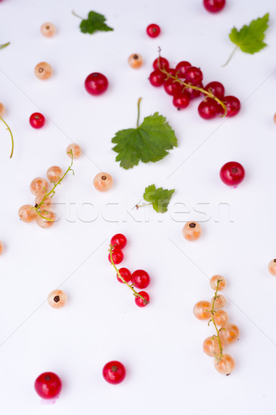 Top View Photo of mix of berries Stock photo © deandrobot