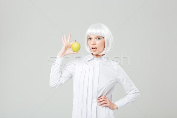 Felice attrattivo capelli biondi fresche Foto d'archivio © deandrobot