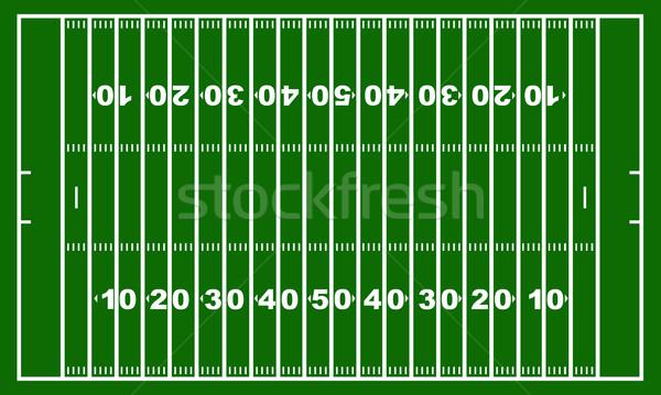 American Football Field Stock photo © DeCe