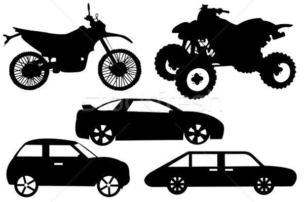 Illustration of a different automobile Stock photo © DeCe