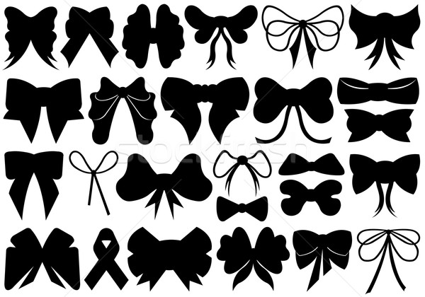 Set of different ribbons Stock photo © DeCe