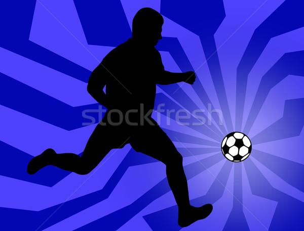 Soccer Player Stock photo © DeCe