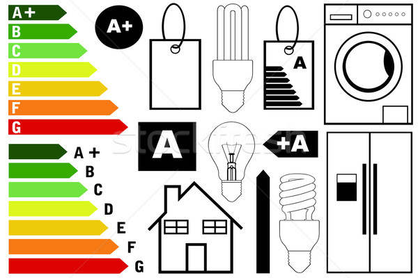 Stock photo: Energy Efficiency Elements