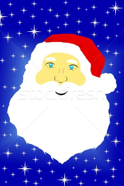 Face of Santa Claus Stock photo © DeCe