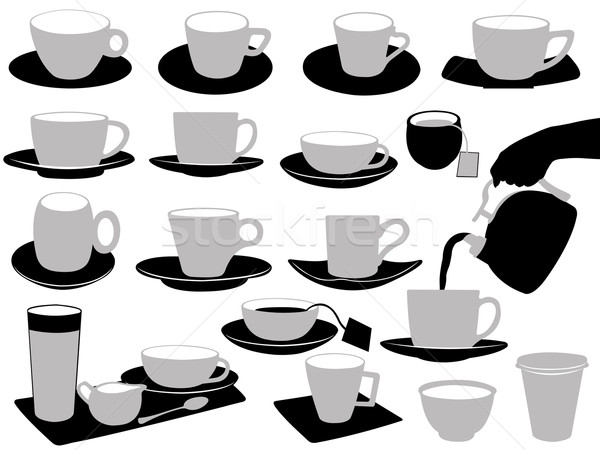 Illustration Of Cups Stock photo © DeCe