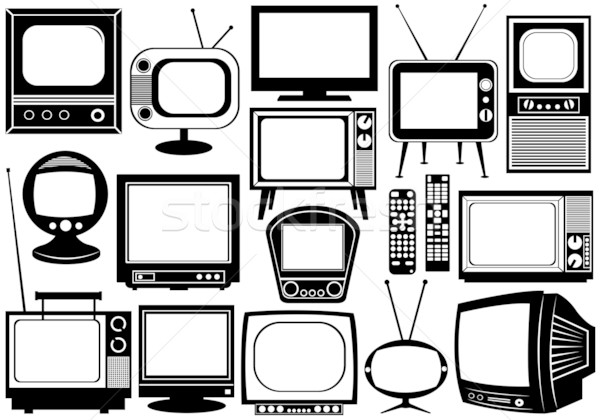 Tv set collage Stock photo © DeCe