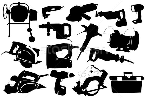Electric Tools Stock photo © DeCe