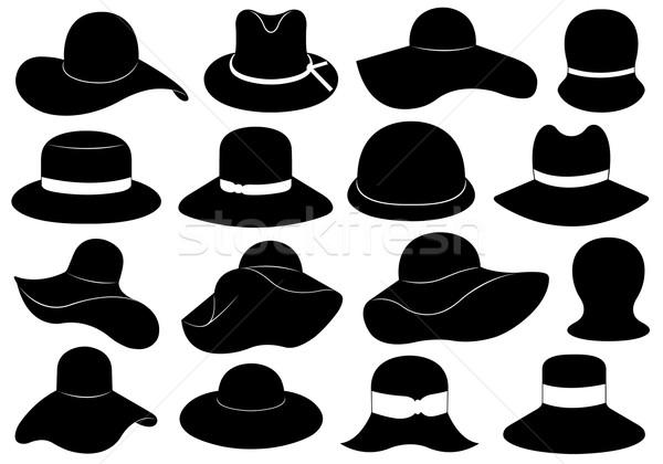 Hats illustration  Stock photo © DeCe