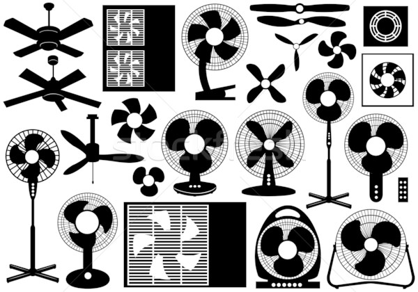 Different ventilator set Stock photo © DeCe