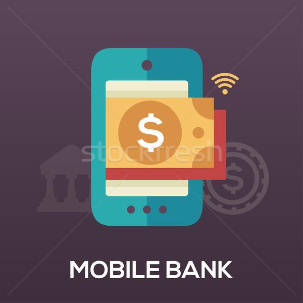 Mobiles banque design ic ne isol modernes - Modernes mobeldesign ...