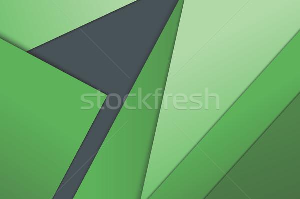 örnek olağandışı modern malzeme dizayn vektör Stok fotoğraf © Decorwithme