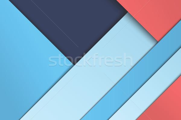 Ilustración insólito moderna material diseno vector Foto stock © Decorwithme