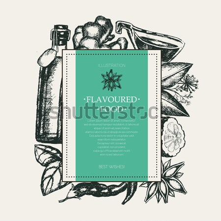 Urodziny nowoczesne placu pocztówkę szablon Zdjęcia stock © Decorwithme