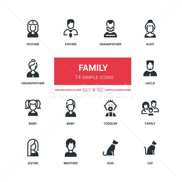 Foto stock: Familia · diseno · estilo · alto · calidad