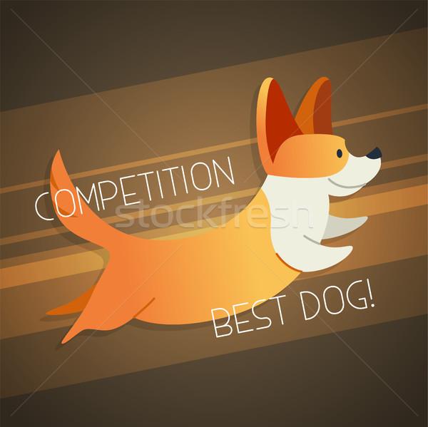 犬 現代 ベクトル フレーズ 実例 ストックフォト © Decorwithme