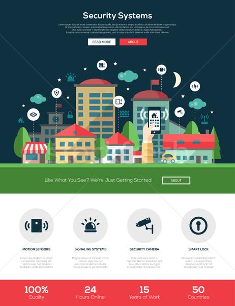 Сток-фото: безопасности · сайт · баннер · веб-дизайн · Элементы