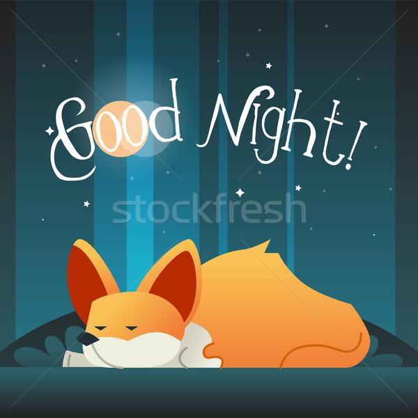 Dog - modern vector phrase flat illustration. Stock photo © Decorwithme