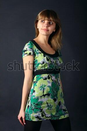 девушки свет молодые красивой женщины Сток-фото © DedMorozz