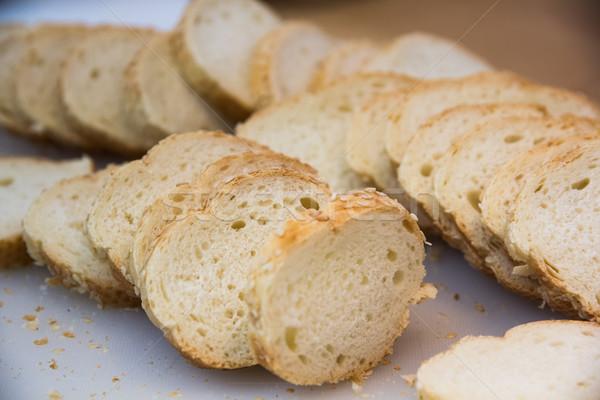 французский багет хлеб Stick продовольствие Сток-фото © DedMorozz