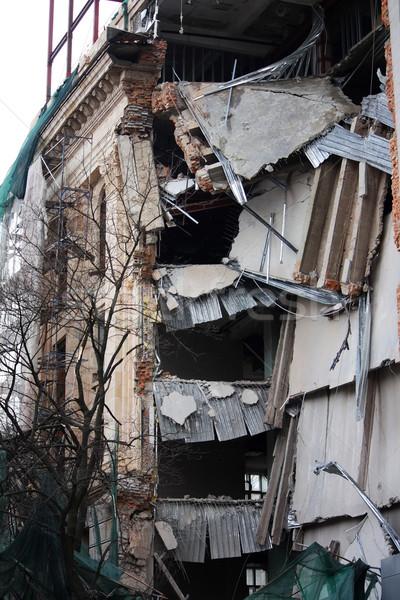 Ruined building Stock photo © DedMorozz
