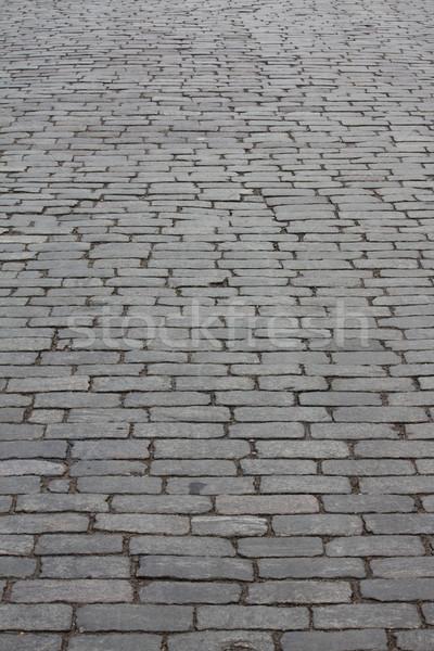 город каменные дороги улице шаблон перспективы Сток-фото © DedMorozz